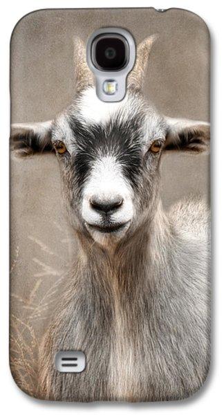 Goat Portrait Galaxy S4 Case by Lori Deiter