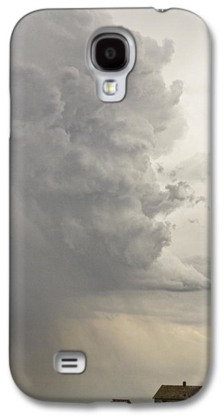 Storm Prints Photographs Galaxy S4 Cases - Gobbled Up By a Storm Galaxy S4 Case by James BO  Insogna
