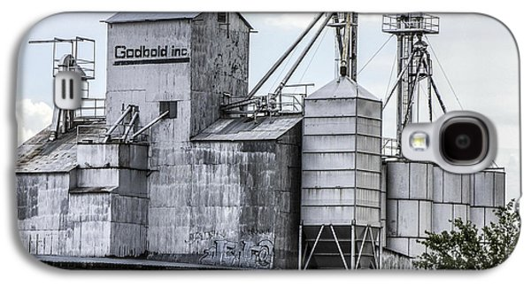 Feed Mill Galaxy S4 Cases - Godbold is a feed mill producer in Marfa Galaxy S4 Case by Rebecca Dru