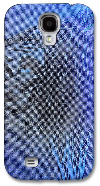 Archetype Paintings Galaxy S4 Cases - Goddess Archetype of the Atomic Principle Galaxy S4 Case by Lady Picasso Tetka Rhu