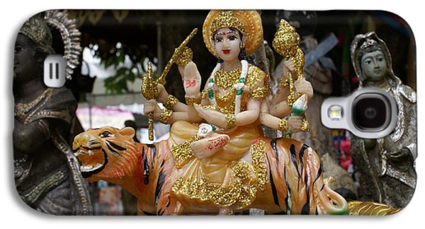 Goddess Durga Galaxy S4 Cases - Goddess Durga Galaxy S4 Case by Gregory Smith