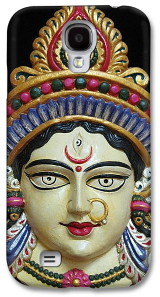 Goddess Durga Galaxy S4 Cases - Goddess Durga Galaxy S4 Case by Sayali Mahajan