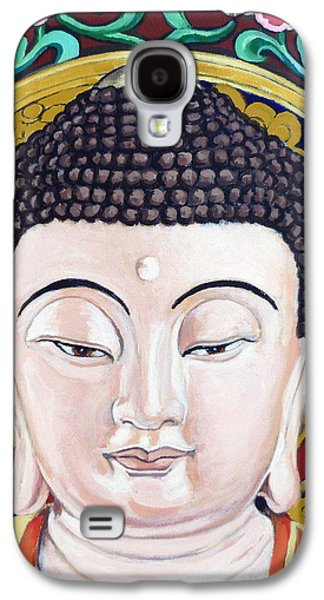 Statue Portrait Galaxy S4 Cases - Goddess Tara Galaxy S4 Case by Tom Roderick
