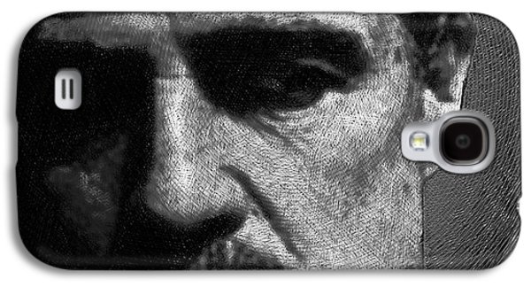 Francis Ford Coppola Galaxy S4 Cases - Godfather Marlon Brando Galaxy S4 Case by Tony Rubino