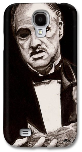 Francis Ford Coppola Galaxy S4 Cases - Godfather Galaxy S4 Case by Michael Mestas