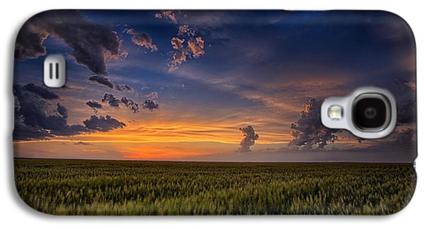 Wind Photographs Galaxy S4 Cases - Gods Country Galaxy S4 Case by Thomas Zimmerman