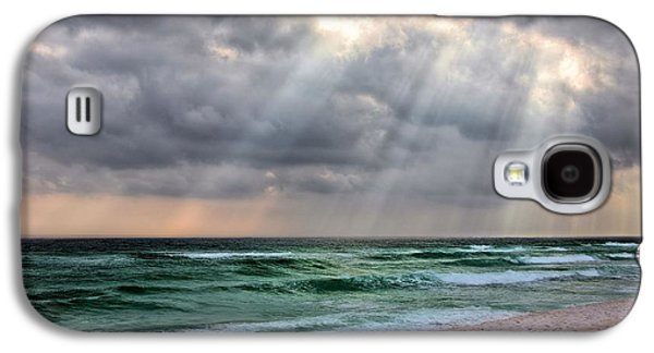 Florida Panhandle Galaxy S4 Cases - Gods Light Shines Down on Destin Galaxy S4 Case by JC Findley