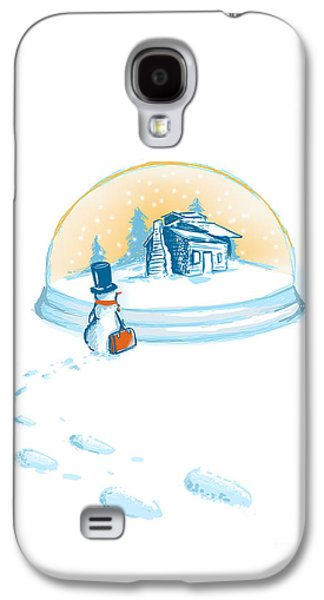 Winter Wonderland Galaxy S4 Cases - Going home Galaxy S4 Case by Budi Satria Kwan