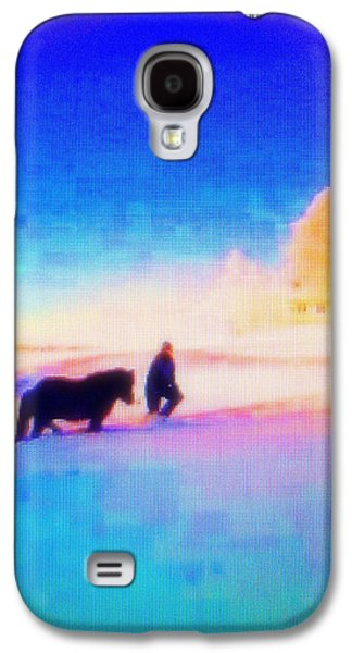 Temperament Galaxy S4 Cases - Going Home Galaxy S4 Case by Hilde Widerberg