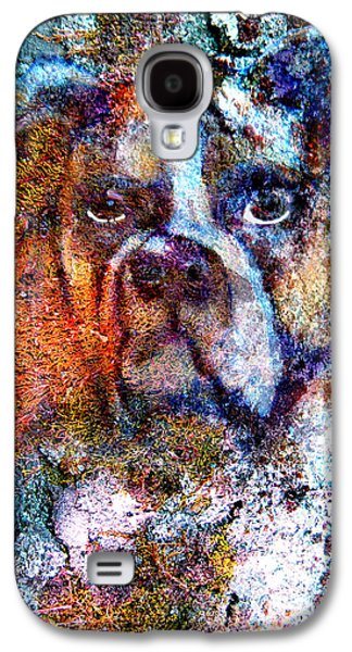 Boxer Digital Art Galaxy S4 Cases - Going Home Galaxy S4 Case by James Huntley