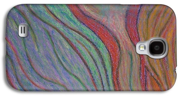 Spiritual Pastels Galaxy S4 Cases - Going with the Flow Galaxy S4 Case by Jamie Rogers
