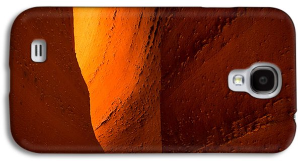 Staircase Galaxy S4 Cases - Gold Galaxy S4 Case by Chad Dutson