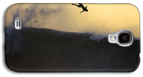 Fine Art Photography Galaxy S4 Cases - Gold Leap Galaxy S4 Case by Sean Davey
