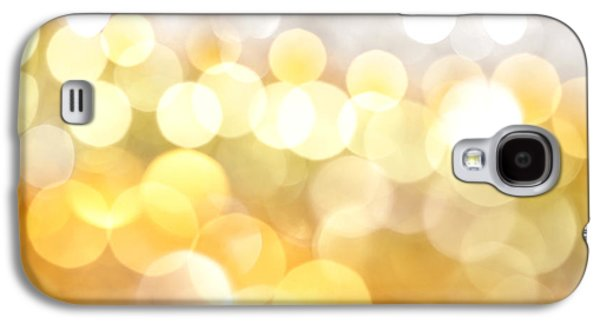 Abstract Digital Photographs Galaxy S4 Cases - Gold on the Ceiling Galaxy S4 Case by Dazzle Zazz