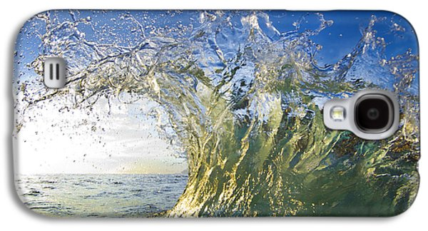Surrealism Photographs Galaxy S4 Cases - Gold Crown Galaxy S4 Case by Sean Davey