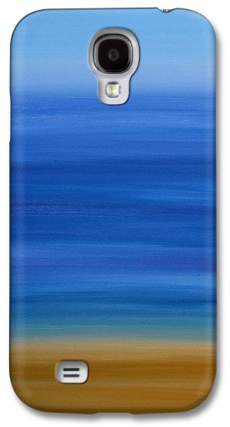 Beach Landscape Galaxy S4 Cases - Golden Beach Galaxy S4 Case by Gillian Sarah