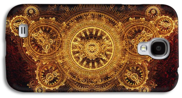 Mechanism Galaxy S4 Cases - Golden butterfly Galaxy S4 Case by Martin Capek