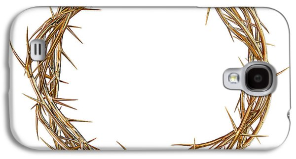 Valuable Galaxy S4 Cases - Golden Crown Of Thorns Galaxy S4 Case by Allan Swart