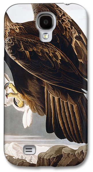 Eagle Paintings Galaxy S4 Cases - Golden Eagle Galaxy S4 Case by John James Audubon
