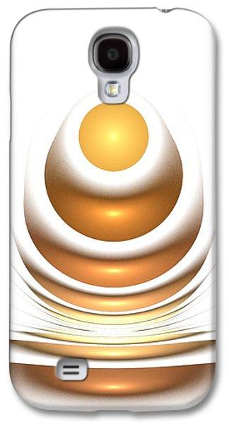Decoration Galaxy S4 Cases - Golden Egg Galaxy S4 Case by Anastasiya Malakhova