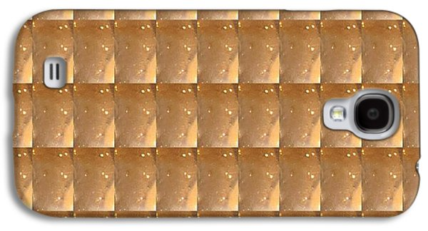 Graphic Jewelry Galaxy S4 Cases - GOLDEN Energy Biscuits Jewels Pattern ARTISTIC Decorations Galaxy S4 Case by Navin Joshi