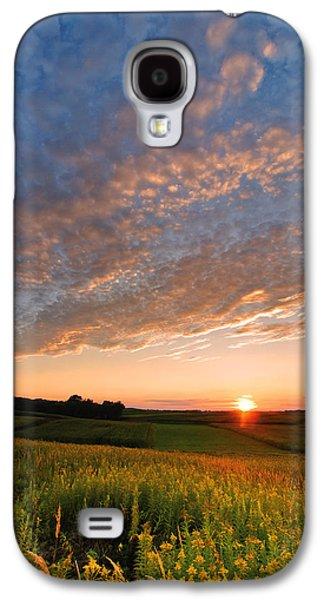 Golden Fields Galaxy S4 Case by Davorin Mance
