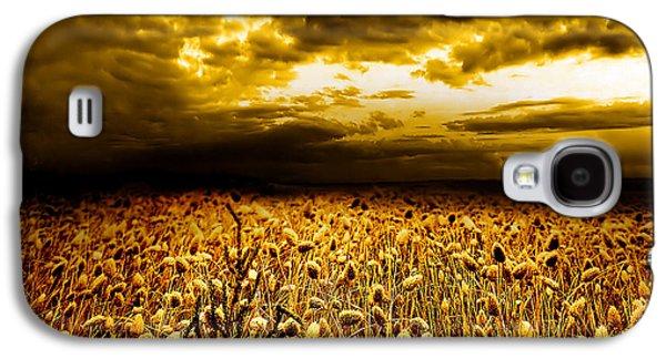 Field. Cloud Galaxy S4 Cases - Golden Fields Galaxy S4 Case by Photodream Art