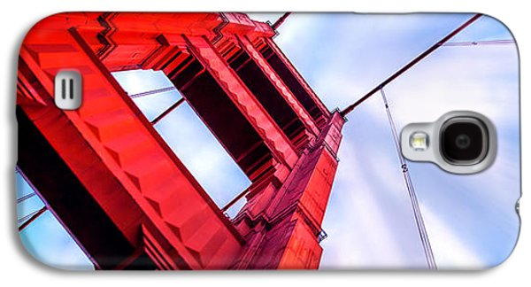 San Francisco Famous Photographers Galaxy S4 Cases - Golden Gate Boom Galaxy S4 Case by Az Jackson