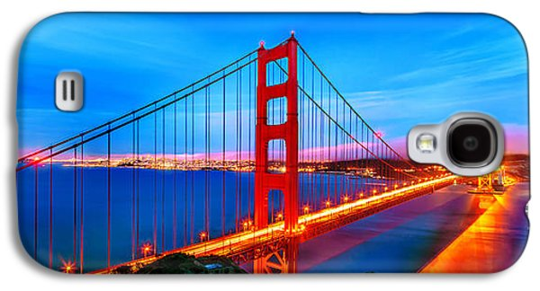 Follow The Golden Trail Galaxy S4 Case by Az Jackson