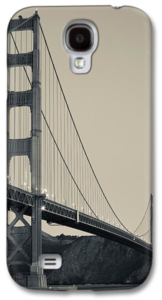 Built Structure Galaxy S4 Cases - Golden Gate Bridge From Fort Point Galaxy S4 Case by Panoramic Images