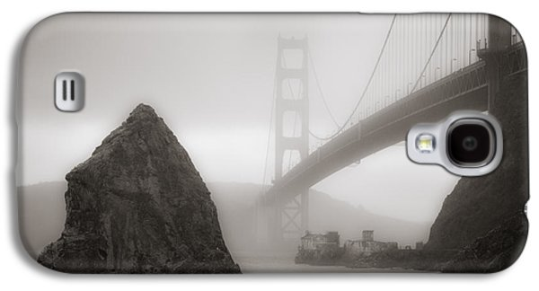 Sausalito Photographs Galaxy S4 Cases - Golden Gate Bridge Galaxy S4 Case by Niels Nielsen