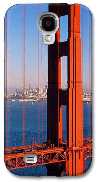 Connect Photographs Galaxy S4 Cases - Golden Gate Bridge San Francisco Ca Galaxy S4 Case by Panoramic Images
