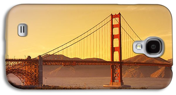 Connect Photographs Galaxy S4 Cases - Golden Gate Bridge San Francisco Ca Usa Galaxy S4 Case by Panoramic Images