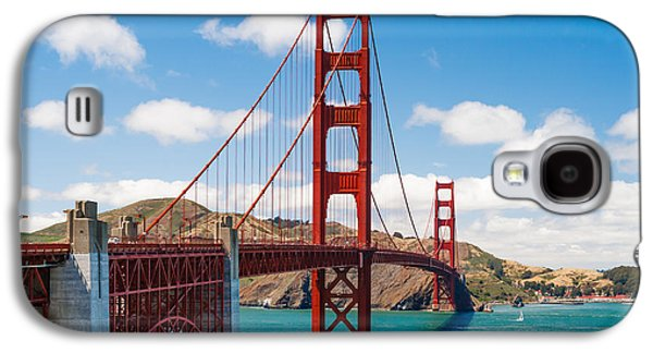 Sausalito Galaxy S4 Cases - Golden Gate Bridge Galaxy S4 Case by Sarit Sotangkur