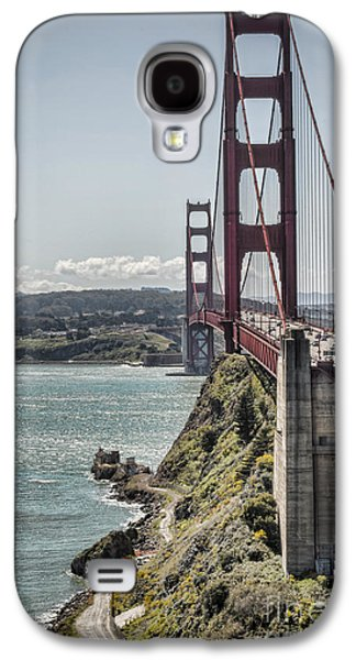 Coast Hwy Ca Galaxy S4 Cases - Golden Gate Galaxy S4 Case by Heather Applegate