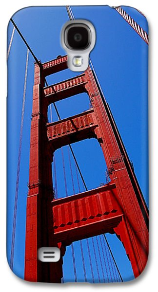 Golden Gate Tower Galaxy S4 Case by Rona Black