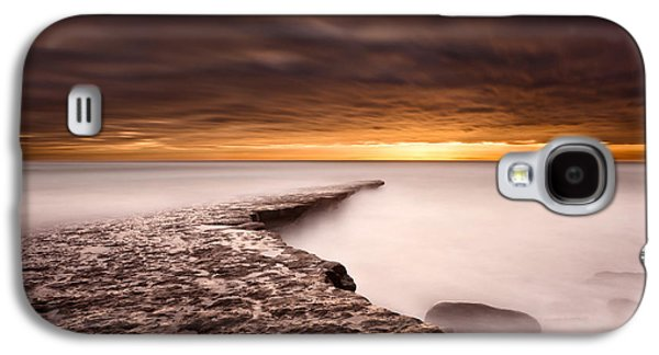 Portugal Galaxy S4 Cases - Golden Galaxy S4 Case by Jorge Maia