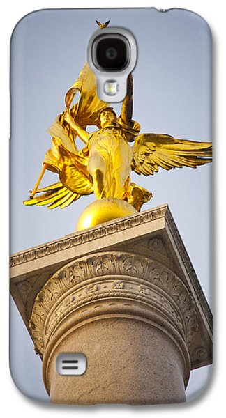 Warrior Goddess Photographs Galaxy S4 Cases - Golden lady Galaxy S4 Case by Rob Thompson