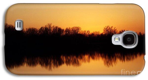 R. Mclellan Photography Galaxy S4 Cases - Golden Lake Reflections Galaxy S4 Case by R McLellan