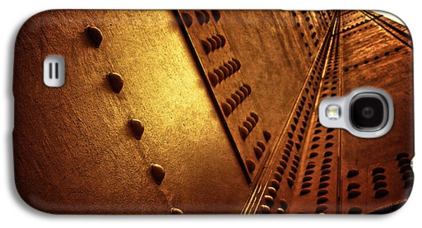 American Landmarks Photographs Galaxy S4 Cases - Golden Mile Galaxy S4 Case by Andrew Paranavitana