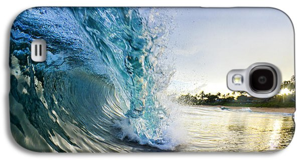 Ocean Art Photography Galaxy S4 Cases - Golden Mile Galaxy S4 Case by Sean Davey