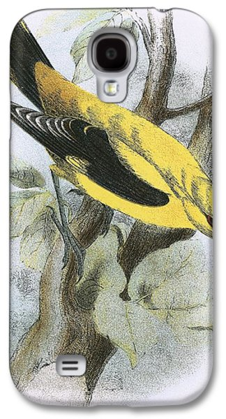 Golden Oriole Galaxy S4 Case by English School