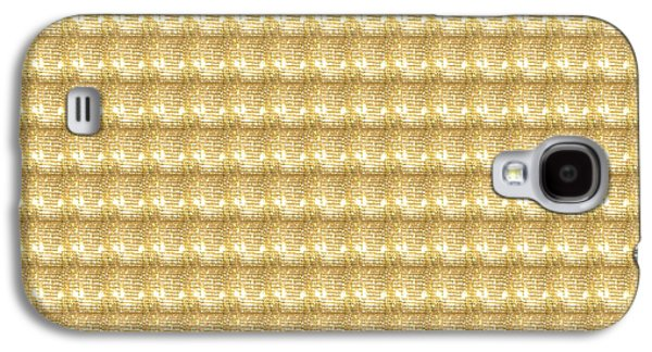 Business Galaxy S4 Cases - Golden SPARKLE Tone Pattern Unique Graphic V2 Galaxy S4 Case by Navin Joshi