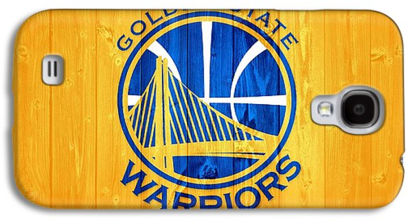 Golden State Warriors Barn Door Galaxy S4 Case by Dan Sproul