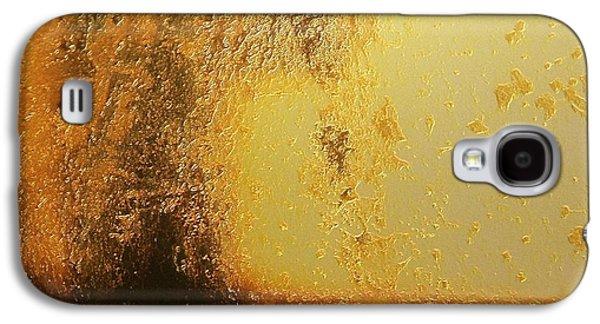 Abstract Landscape Digital Art Galaxy S4 Cases - Golden tree Galaxy S4 Case by Gun Legler