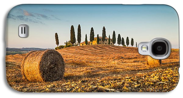 Tuscan Sunset Galaxy S4 Cases - Golden Tuscany 2.0 Galaxy S4 Case by JR Photography