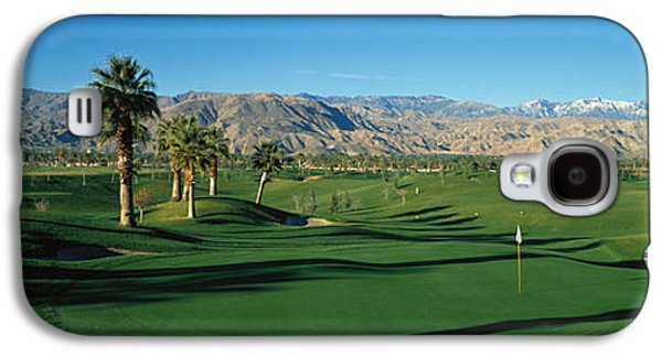 Sports Photographs Galaxy S4 Cases - Golf Course, Desert Springs Galaxy S4 Case by Panoramic Images