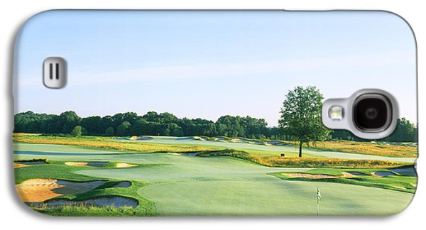 Somerset Galaxy S4 Cases - Golf Course, Royce Brook Golf Club Galaxy S4 Case by Panoramic Images
