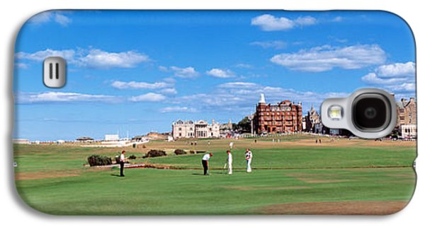 Sports Photographs Galaxy S4 Cases - Golf Course, St Andrews, Scotland Galaxy S4 Case by Panoramic Images