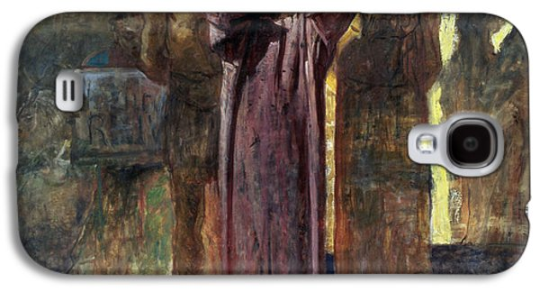 Passion Galaxy S4 Cases - Golgotha, 1892-93 Oil On Canvas Galaxy S4 Case by Ge